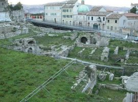 The Roman amphitheatre in Ancona