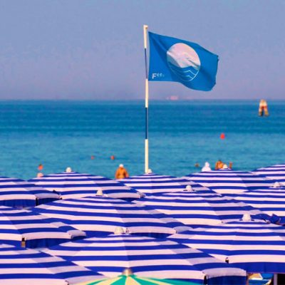 """The photos of """"Blue Flag 2018"""" beaches in Marche region"""