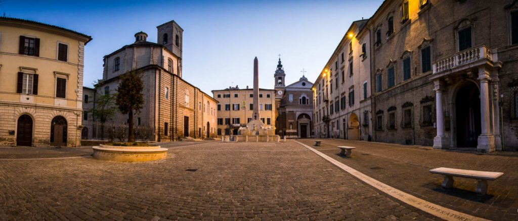 A trip to Jesi, a city in the middle of the History